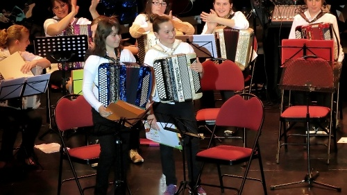 Le concert de France Accordéon en 2012