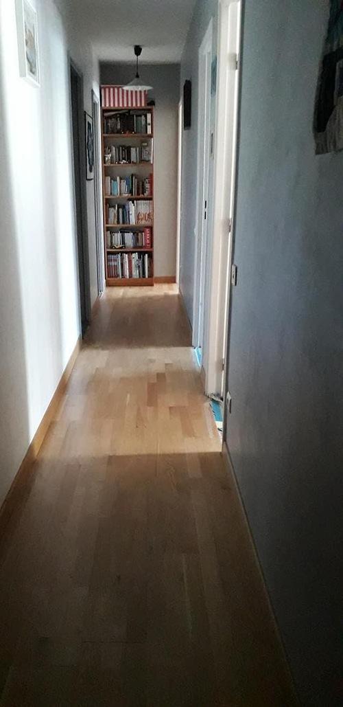 Course à pied en appartement