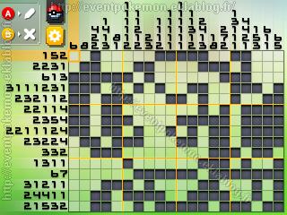 Hoopa Enchainé Pokémon Picross