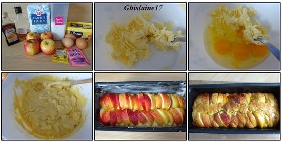 Cake aux pommes