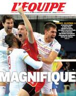 les FRANCAIS CHAMPIONS d'EUROPE de VOLLEY BALL