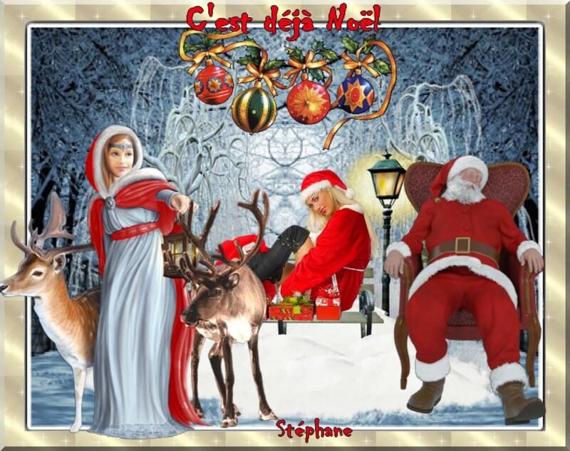 Le défi partage pour Mimi 07  C'est bientôt Noël)