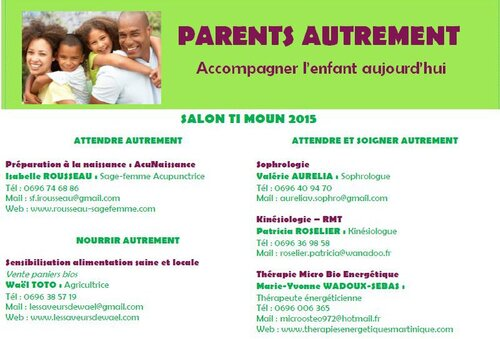 Parents Autrement à Ti moun Expo