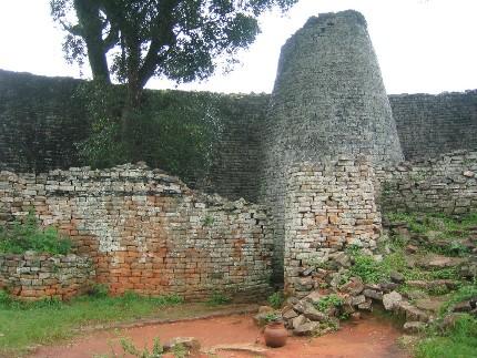 Les ruines de Grand Zimbabwe, DR