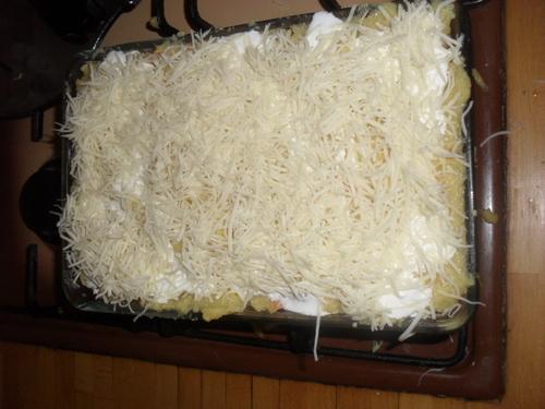 gratin de polenta aux légumes façon lasagne