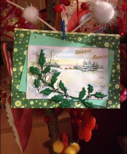 BONNE ANNEE - cartes ronde du nouvel an