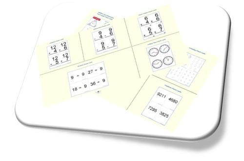 Générateur de cartes flash mathématiques