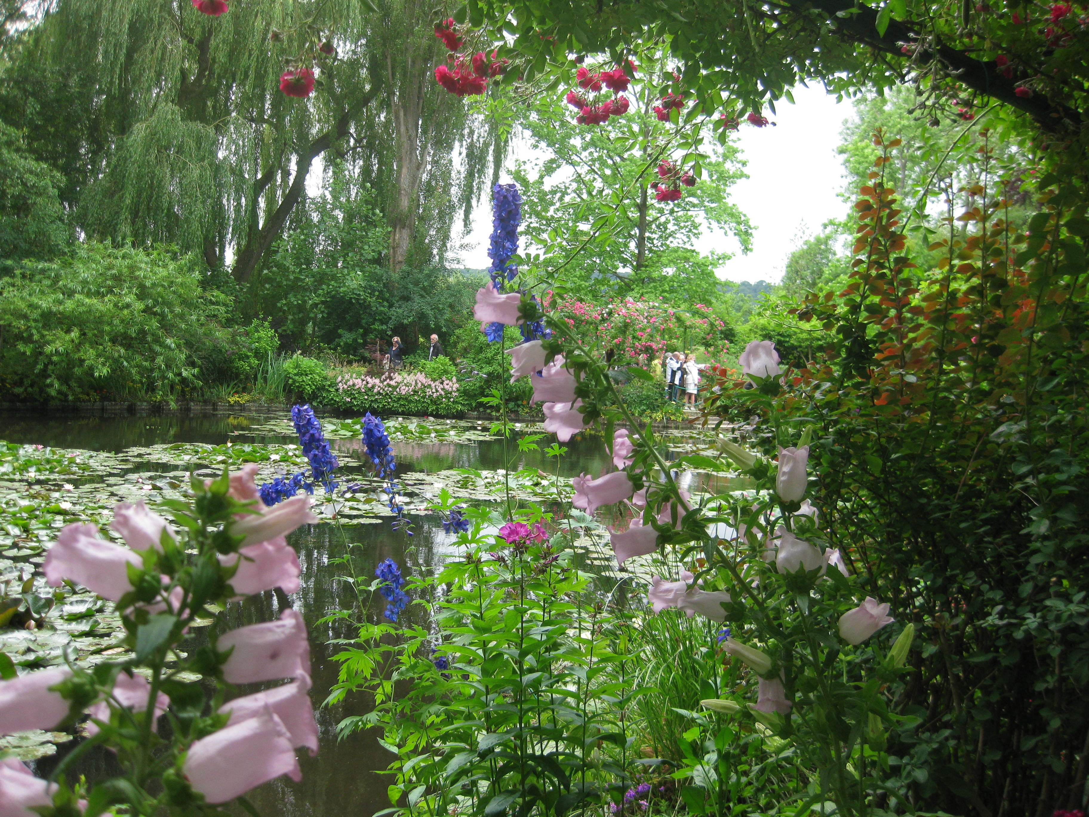 les jardins de claude monet giverny eure milfontaines. Black Bedroom Furniture Sets. Home Design Ideas