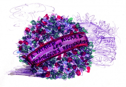 Mort de Patrick Ricard,  Pernod-Ricard, 17 août 2012