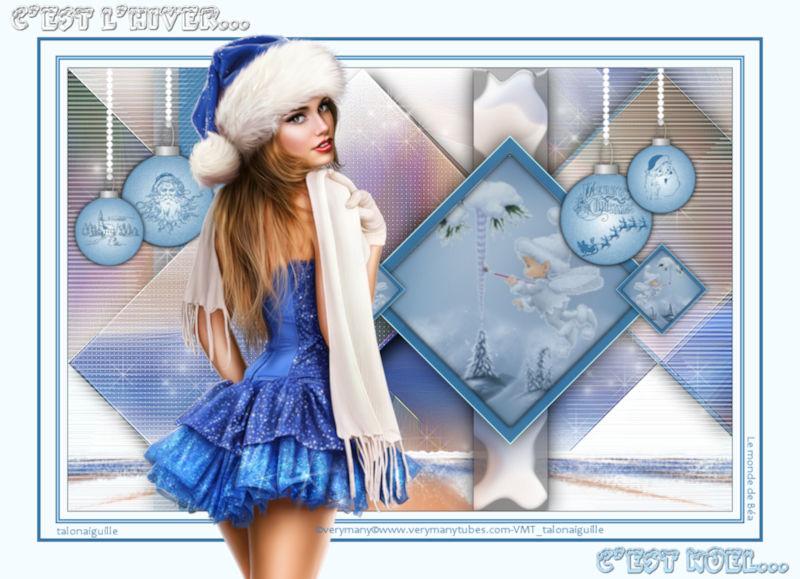 *** C'est l'hiver .... C'est Noël ***