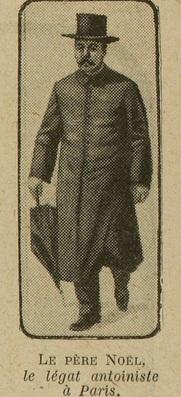 Père Noël - Excelsior 26 octobre 1913 - suite en page 2 (détail)