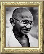 Né le 2 octobre 1869, le Mahatma Gandhi, Balance ascendant Balance
