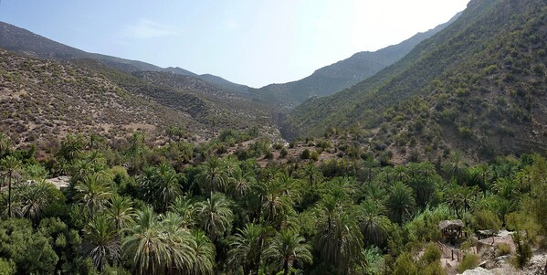 Vallée du Paradis Panorama