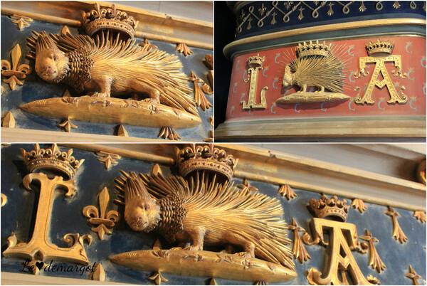 A l'intérieur du château de Blois...