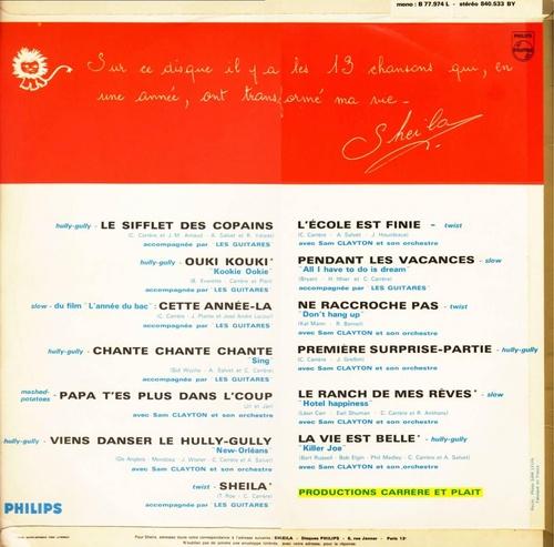 1963 / LE SIFFLET DES COPAINS