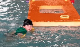 Séance piscine