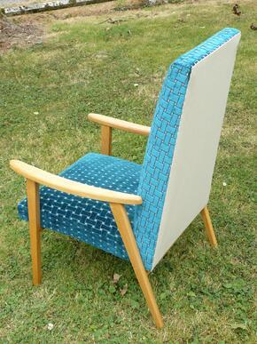 Fauteuil Vintage Design Scandinave année 50/60