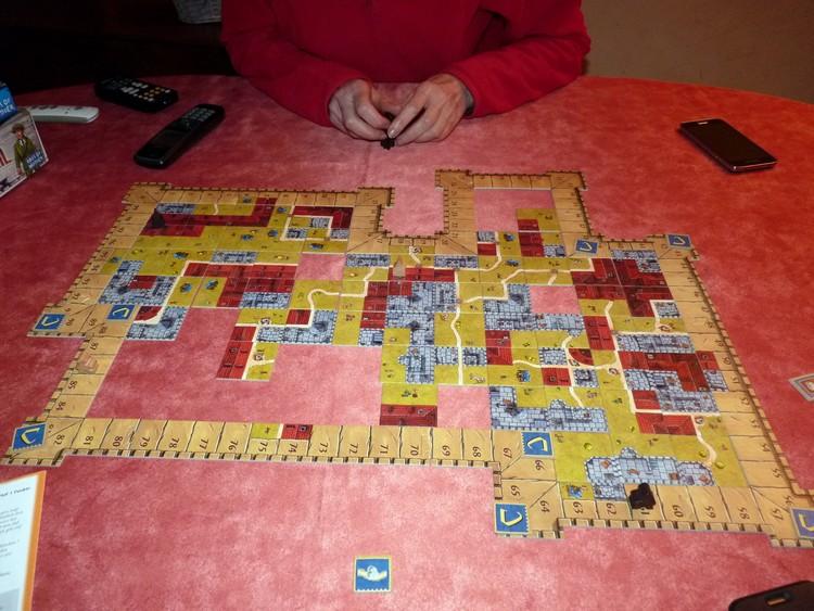 Carcassonne die Burg (fin)