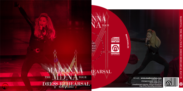 The MDNA Tour - Full Audio Dress Rehearsal