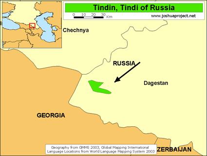 Tindin, Tindi in Russia