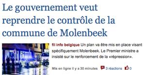 Terrorisme: que se passe-t-il entre la Belgique et nous?