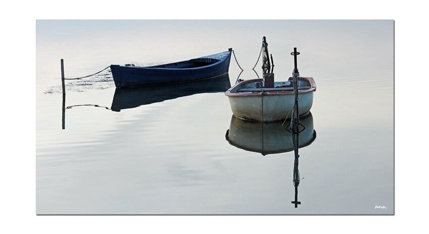 Reflets sur l'étang (Gruissan -Aude)