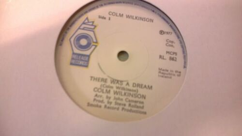 Vinyle 1977 There was a dream Colm Wilkinson