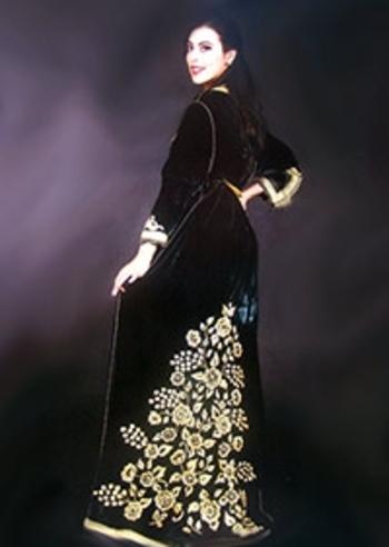 Takchita marocain brodé haute couture 2014 2015 avec caftan marocain TAK-S831