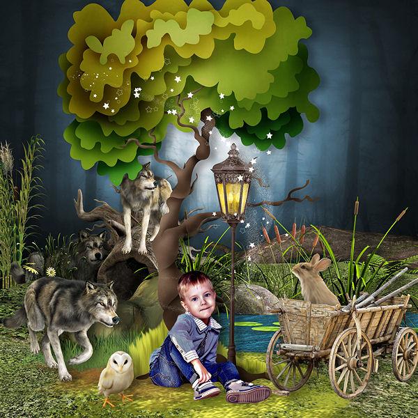 WILD WOLF by Kastagnette