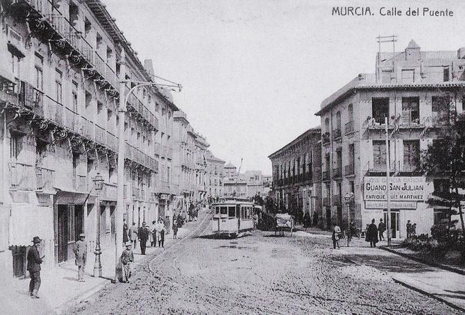 Murcia - Murcia-Calle del Puente - Carte postale ancienne et vue d'Hier et  Aujourd'hui - Geneanet
