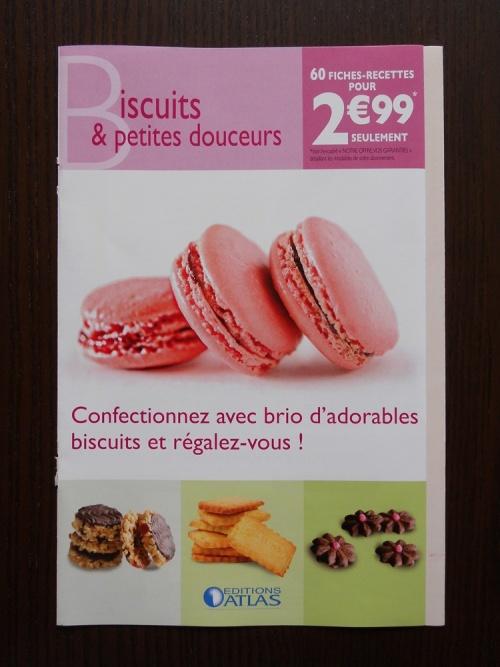 Nouvelle offre VPC Ed Atlas  : Biscuits et petites douceurs