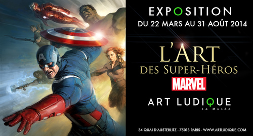 Exposition Marvel