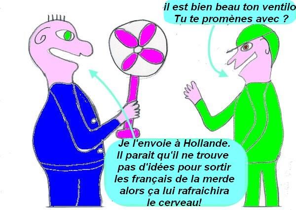 un ventilateur pour Hollande