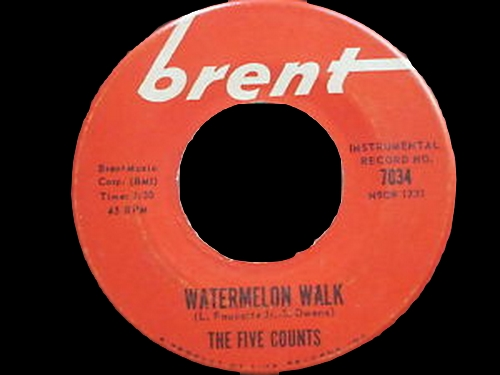 The Five Counts : Watermelon Walk
