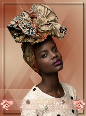AF0032 - Tube femme africaine