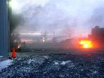 Incendie dans un garage commercial de St-Évariste