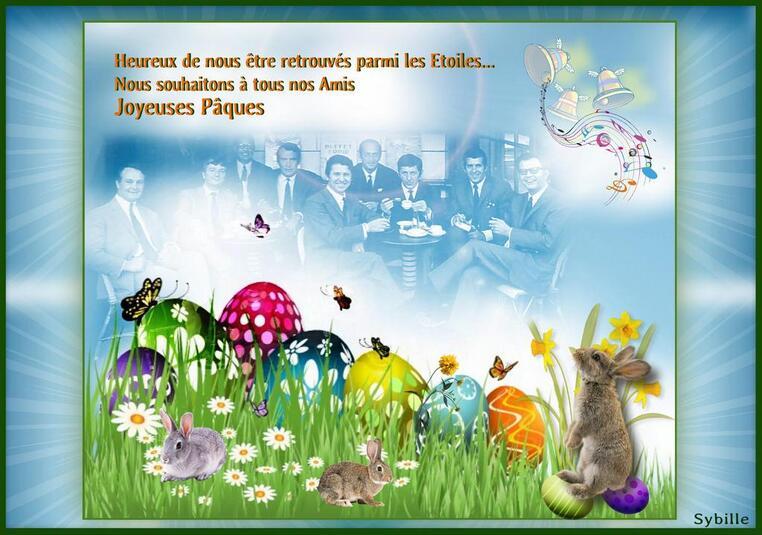 Joyeuses Fêtes de Pâques à tous