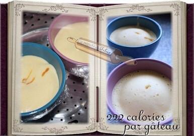Gâteau vapeur au caramel beurre salé (cookéo)
