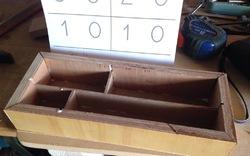 Boîte des symboles numériques montessori DIY