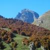 Dans la descente, le pic du Midi d'Ossau