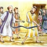 O profeta Agabo avisa do perigo