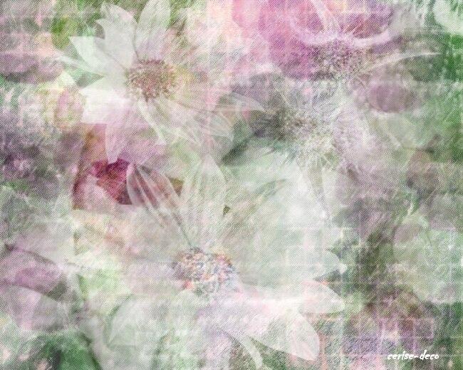 design symphonie fleurie violette