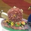 Un escargot de saucisson