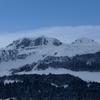 Du sommet du pic Barsaut, les pics Montagnon et Mailh Massibé