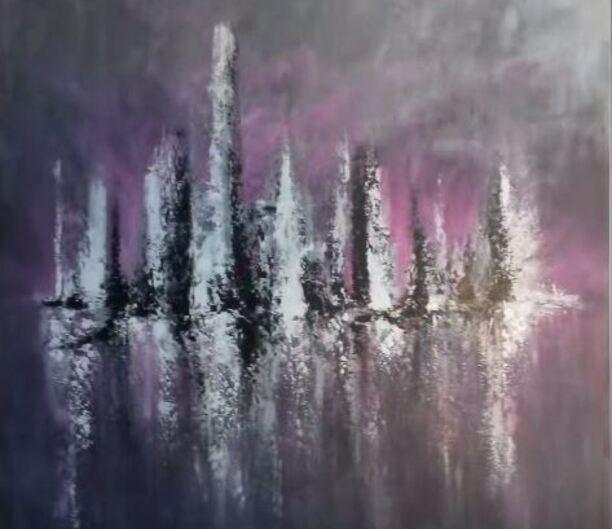 Dessin et peinture - vidéo 1717 : L'art intuitif peut aussi se dépeindre à l'acrylique.