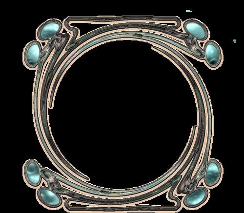 Cadres biscornus, forme ciseaux