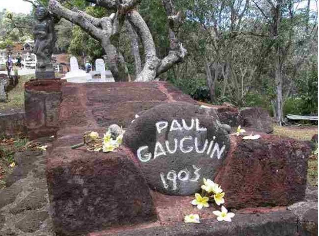 La sépulture de Paul Gauguin