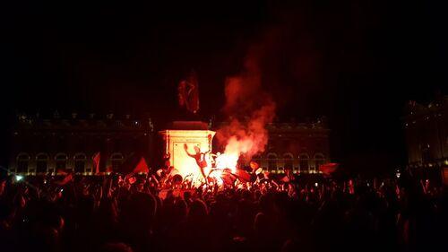 France-Allemagne : Nancy exulte