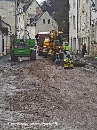 Travaux dans notre rue - Works in our street