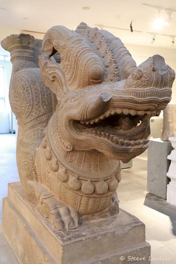 Musée de la sculpture Cham, Dragon